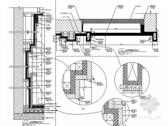 [昆山]顶级住宅时尚现代两层别墅样板房装修图大样图