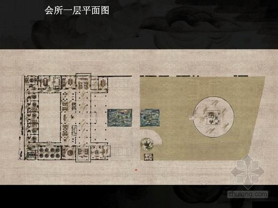 [北京]新中式气宇轩昂古韵会所概念设计方案(含效果图)
