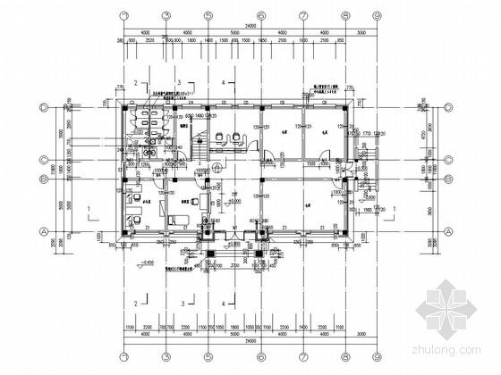 [湖南]水闸防汛仓库工程施工图
