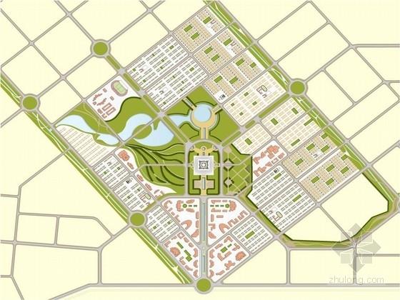 [伊拉克]集合多种功能的宜居可持续发展的新型城市景观规划方案