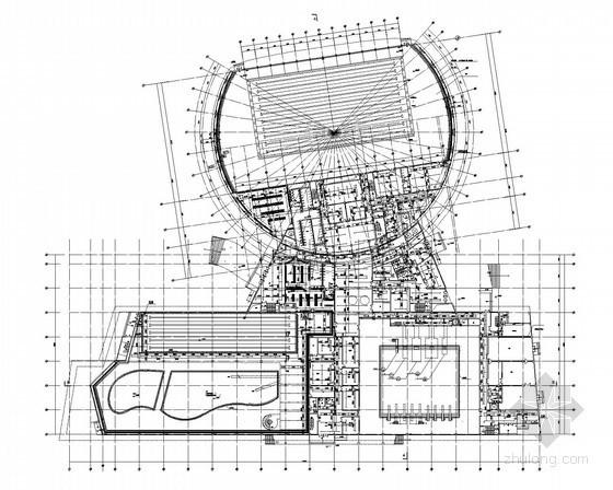 [江苏]某体育中心游泳馆给排水施工图