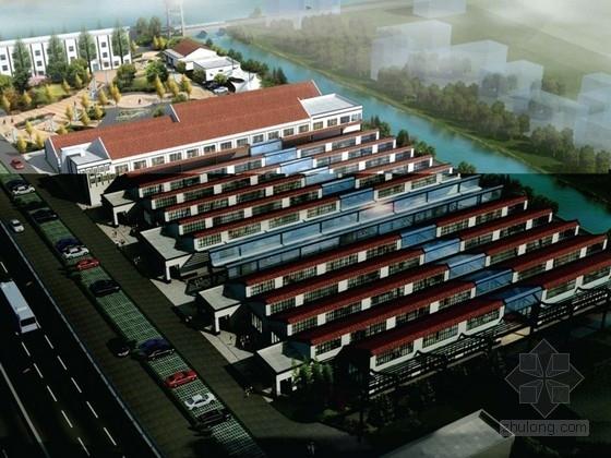 [上海]创业园建筑改造设计方案文本