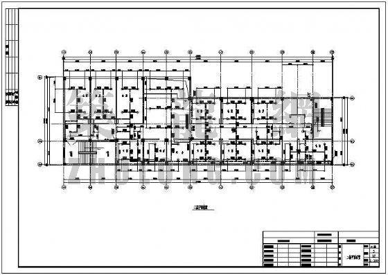 某娱乐场所室内给排水及消防设计图