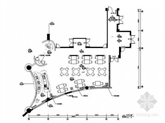 [南通]喜庆庆的酒店中餐厅装修施工图(含效果图)