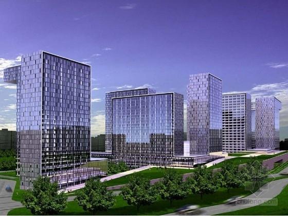 [北京]130米超高层城市综合体设计方案文本(知名事务所)