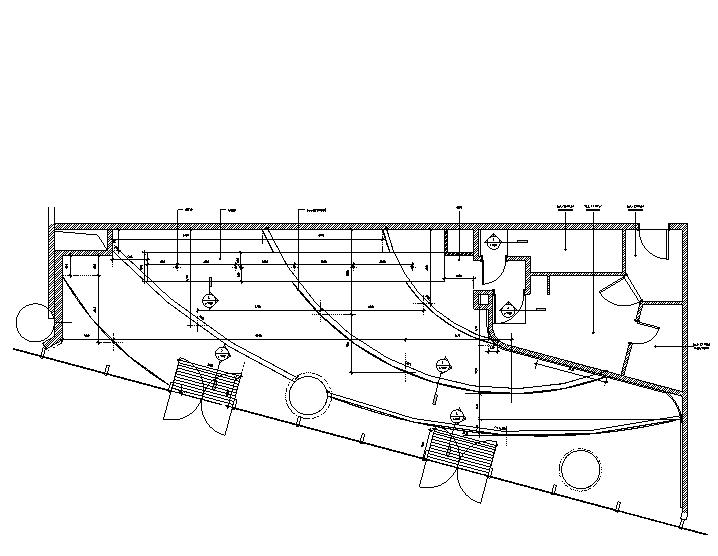 H005杭州来福士星巴克咖啡效果图+施工图CAD+PDF