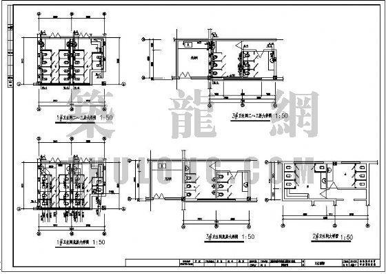 某服饰有限公司出口服装加工基地给排水设计图