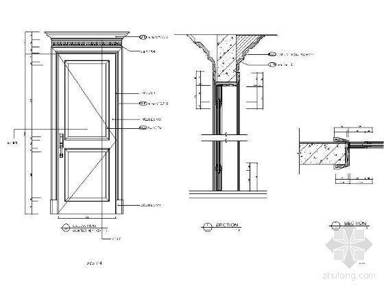 欧式造型门详图