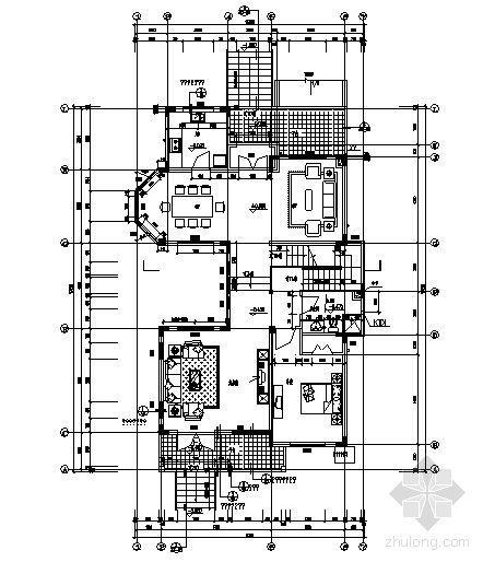 丹堤C区2、3、4、5、6号楼建筑施工图-2