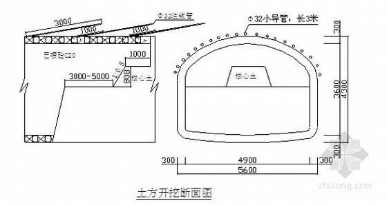 [北京]隧道工程暗挖施工方案