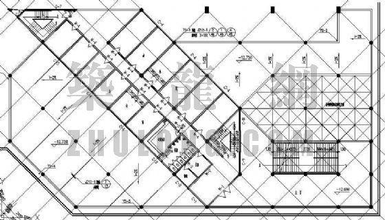 某带有屋顶运动场的综合楼建筑设计方案-4