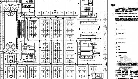 某综合商场电气改造施工图纸