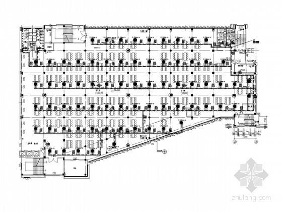 学院建筑空调系统设计施工图(风冷热泵)