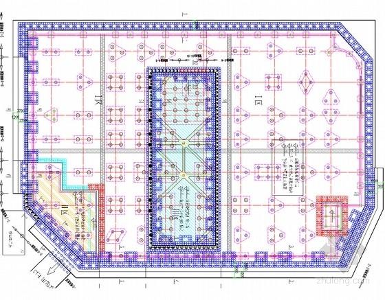 [浙江]10米深基坑重力挡墙结合复合土钉墙支护施工图(含设计方案 计算模型)