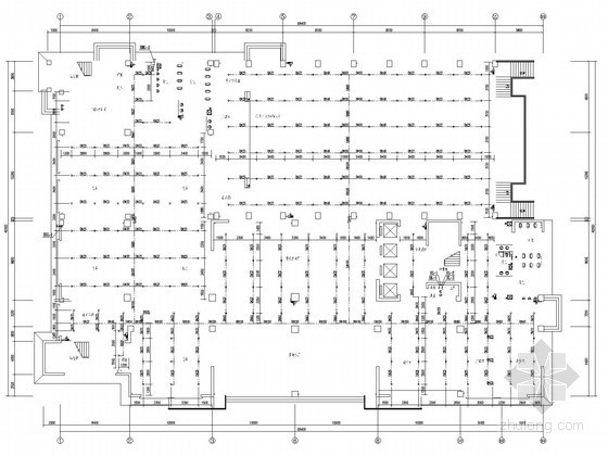 [安徽]十六层中学综合楼给排水施工图