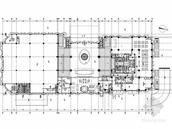 [浙江]高层星级酒店空调通风系统设计施工图(含消防节能设计)