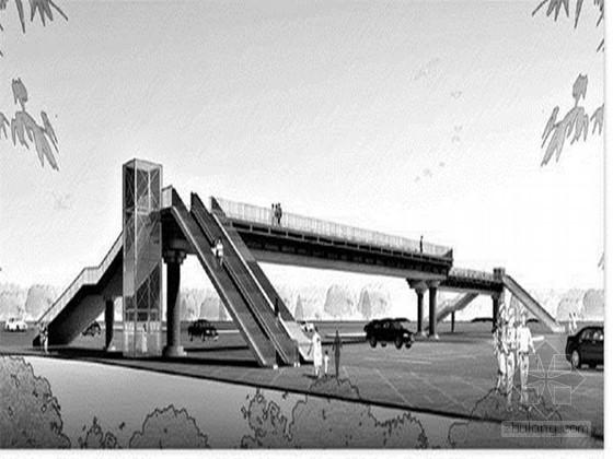 [河北]商业街人行过街天桥建设工程施工招标文件