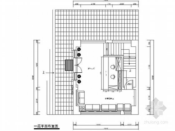 [厦门]某时尚快餐店室内装修施工图(含实景)