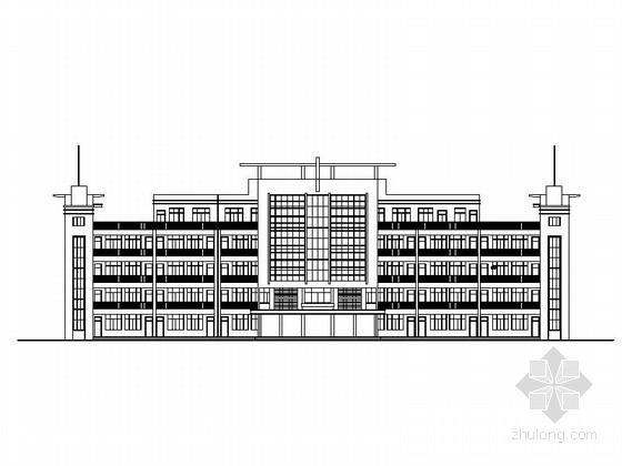 [安徽]高层市级中学教学楼建筑施工图