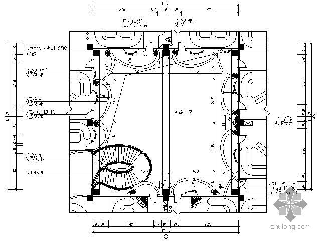 国际会所演艺大厅施工图(含效果)
