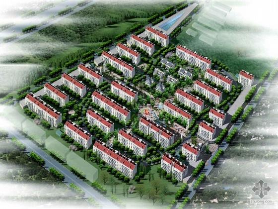 [上海]某小区修建性详细规划设计文本