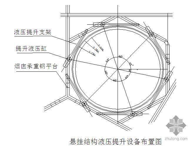 福建某电厂烟囱施工组织设计(争创鲁班奖)