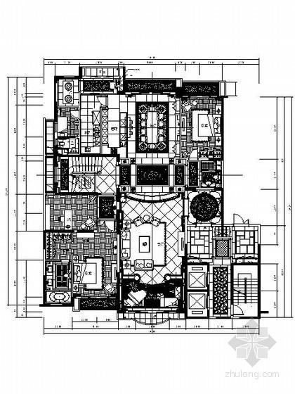 欧式新古典复式楼施工图(含实景)