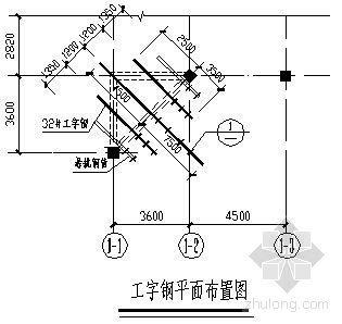 长春市某政府新建办公楼工程顶层悬挑梁支模施工方案(悬挑端长度3.6m)