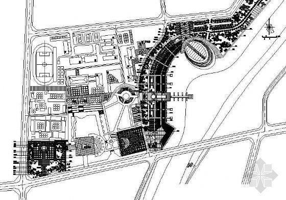 荆河两岸园林设计图
