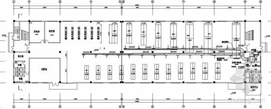某厂房空调图纸资料下载-某厂房中央空调图纸