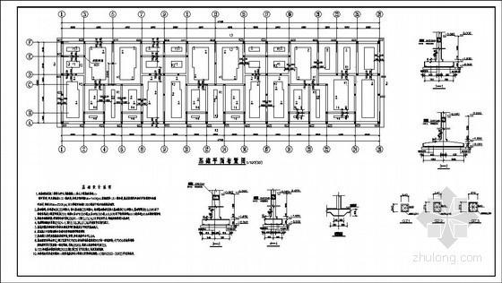 某八层农贸市场砖混结构设计图