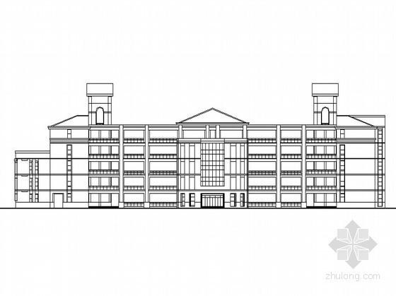 某四十八班小学建筑单体方案(带效果图)