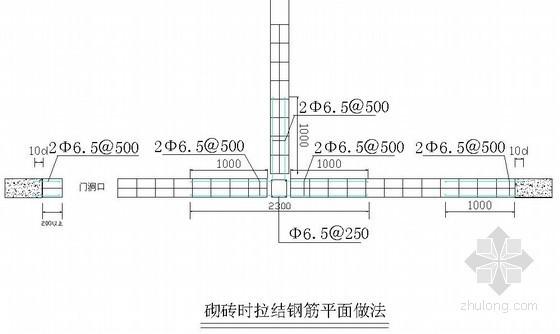 [重庆]多层科研楼工程砌体专项施工方案(页岩砖)