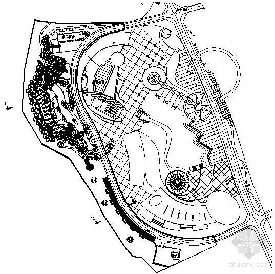 山西某宾馆山体整治工程景观全套施工图