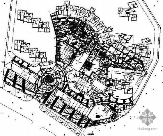 [长沙]花园小区一期景观设计施工图