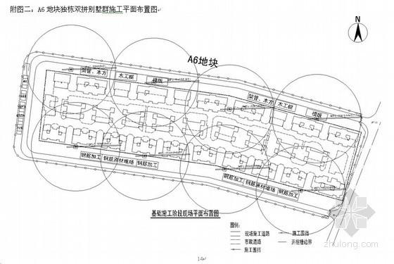 [天津]商业住宅临建施工方案展示(中建、附图丰富)