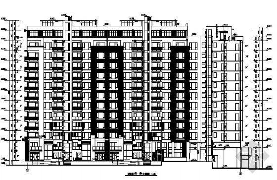 万科高层住宅楼建筑方案图-2