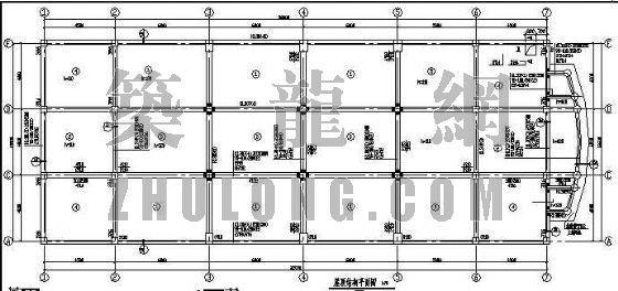 某法院审判厅结构施工图
