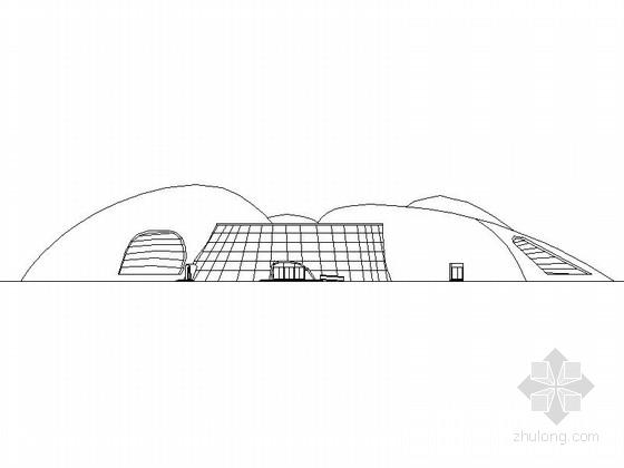 [东莞]某二层科技馆建筑施工图(含效果图)