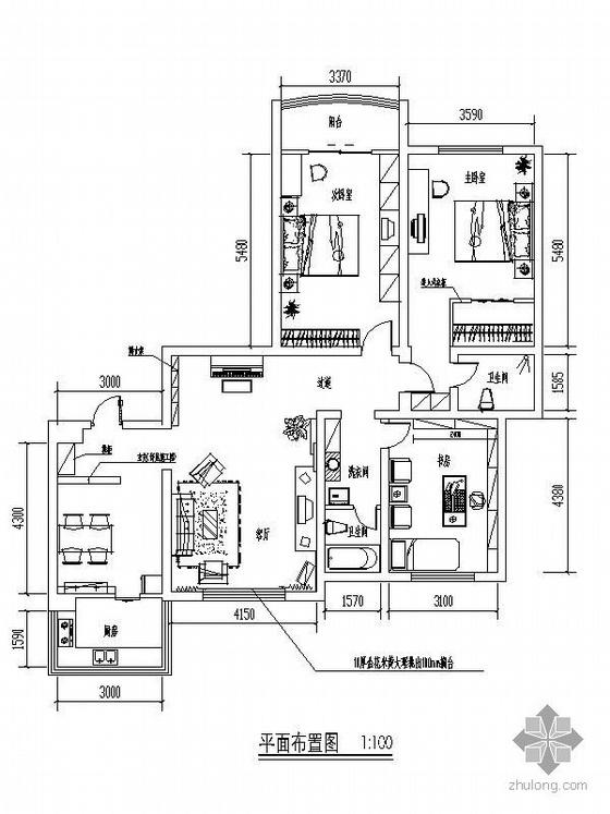 三室两厅装修(含效果图)