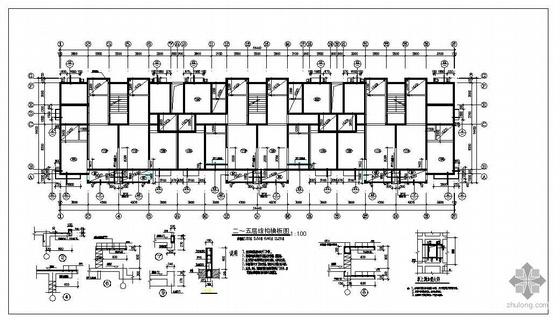 某七层砖混住宅结构图