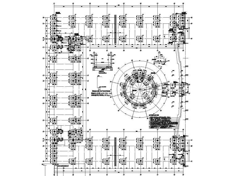 [山东]地上四层框架结构图书馆结构施工图