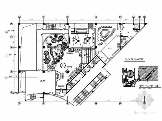 [深圳]造型新颖大型现代少年活动中心装修施工图(含实景及实景视频)