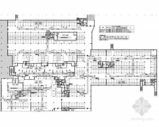 [江苏]住宅建筑人防战时通风系统设计施工图