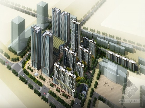 [江苏]现代风格住宅区设计方案文本(知名设计院设计)