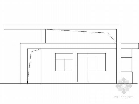 某住宅小区大门建筑施工图