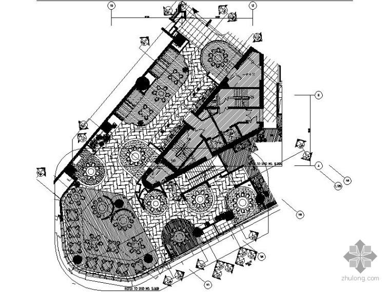 [北京]五星级酒店1F中餐厅施工图