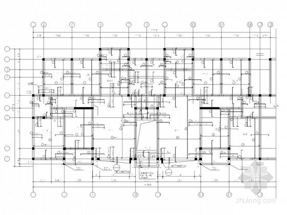 7度区坡屋顶砌体住宅结构施工图