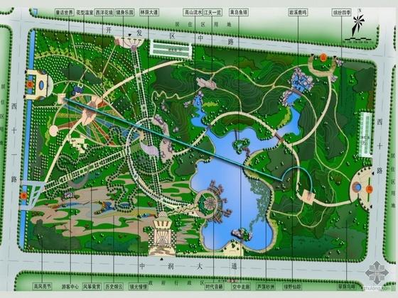 休闲公园规划设计方案(三)