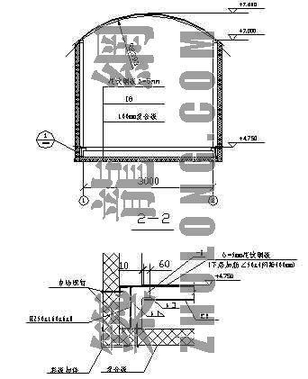 连廊彩板维护节点图